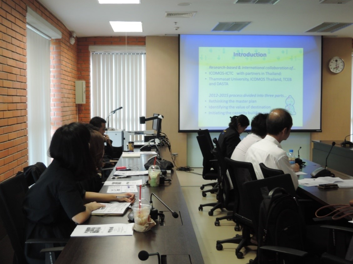 Figure 4 Two-day conference at 401 Room, Mahidol University Learning Center Building, Salaya campus, Thailand