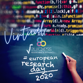 Logo Euraxess European Research Day 2020 ©Euraxess