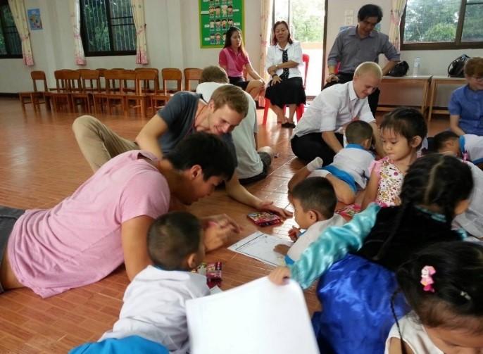 Picture 2. Chiang Mai University, Credits: Lukas Höflechner
