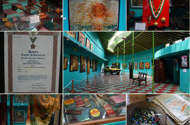 ASEA-UNINET Affandi Museum - A concept of restoration and climate