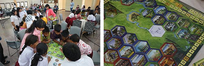 Workshop for elementary school students at IT DEL: EKOPOLIS Module
